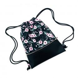 "Plecak worek ""Wild flowers"""