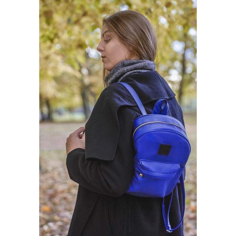 plecak mini granatowy damski