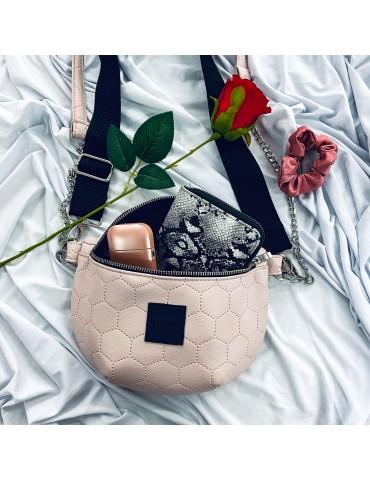 Nerka/Mini torebka EKO Pudrowy róż